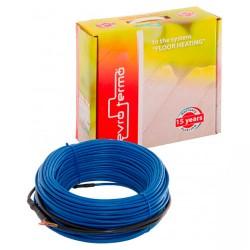 Двухжильный нагревательный кабель ТМ Evro-Termo 15, 1,1м²