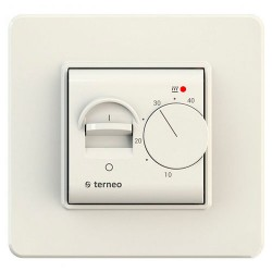 Терморегулятор Terneo mex Бежевый
